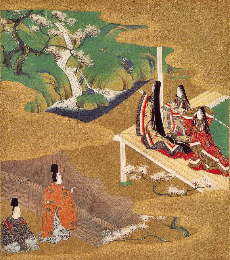 Ch. 5 -  Wakamurasaki (Young Murasaki)  - Tosa Mitsuoki - 1617-1691