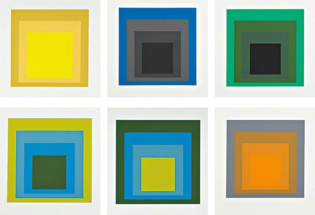 Josef Albers, Formulation Articulation I & II , 1972, silkscreen prints
