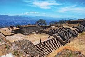 Monte Albán, located in Oaxaca, Mexico