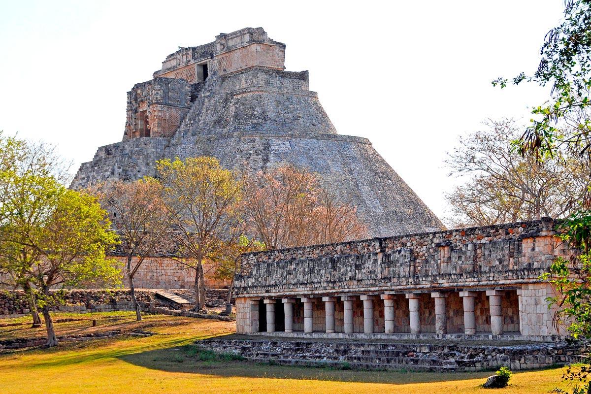 Uxmal, located in Yucatán, Mexico