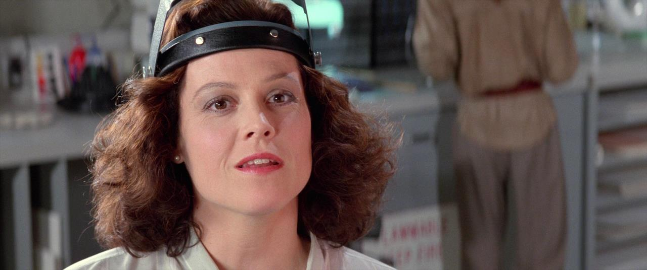 Ghostbusters 2  has Sigourney Weaver, aka Dana Barrett, as a part-time conservator. You know, just until she can get back to her real passion - playing cello for the symphony.