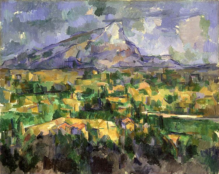 Paul Cezanne, Mont Sainte-Victoire, 1902-1904