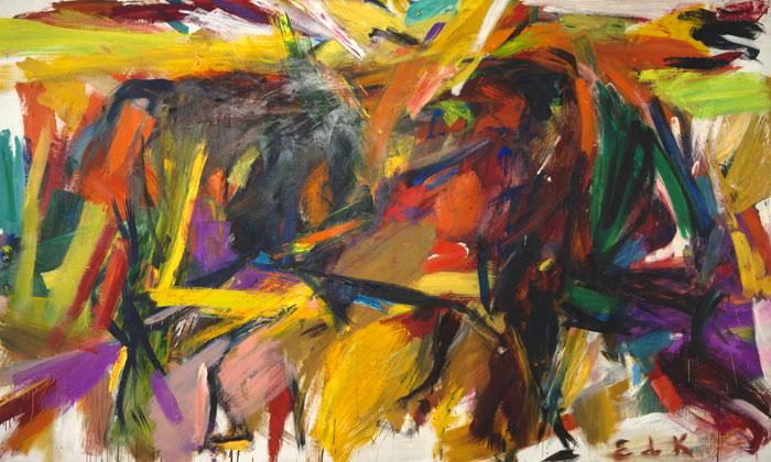 Elaine de Kooning, Bullfight, 1959