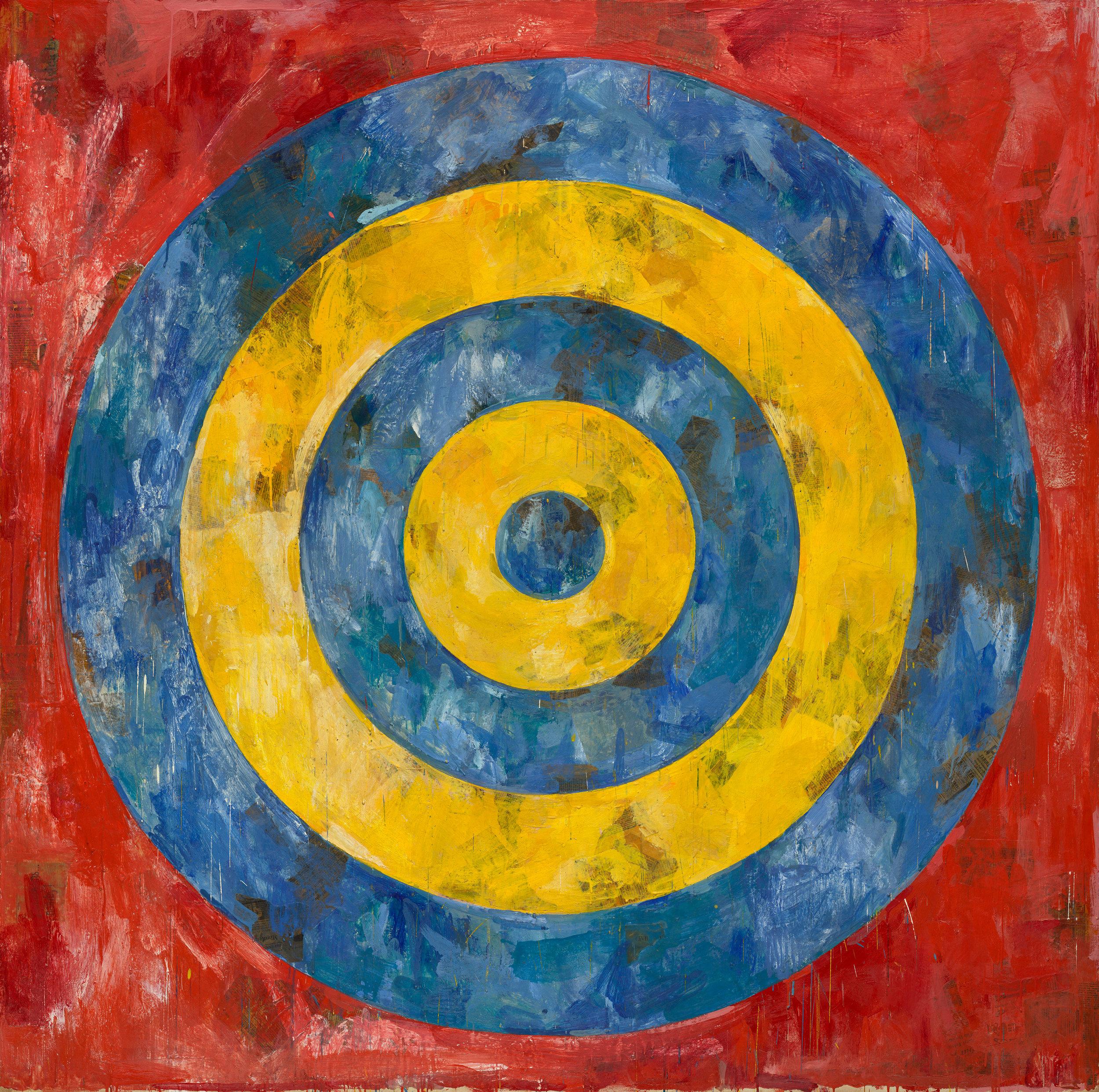 Jasper Johns,  Target , 1961
