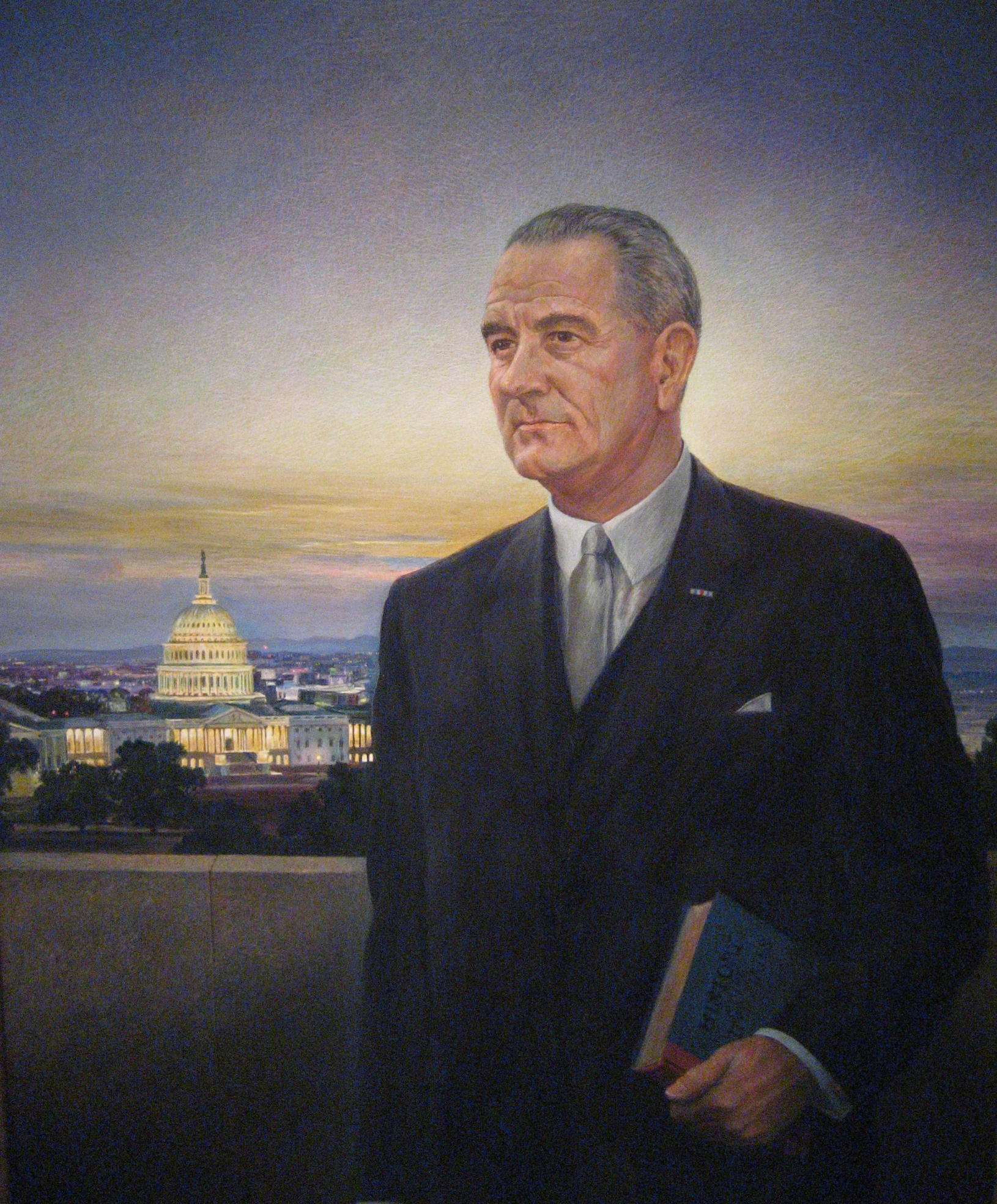"LBJ hated Peter Hurd's depiction of him. Upon seeing the image, the president called it ""the ugliest thing I ever saw."""