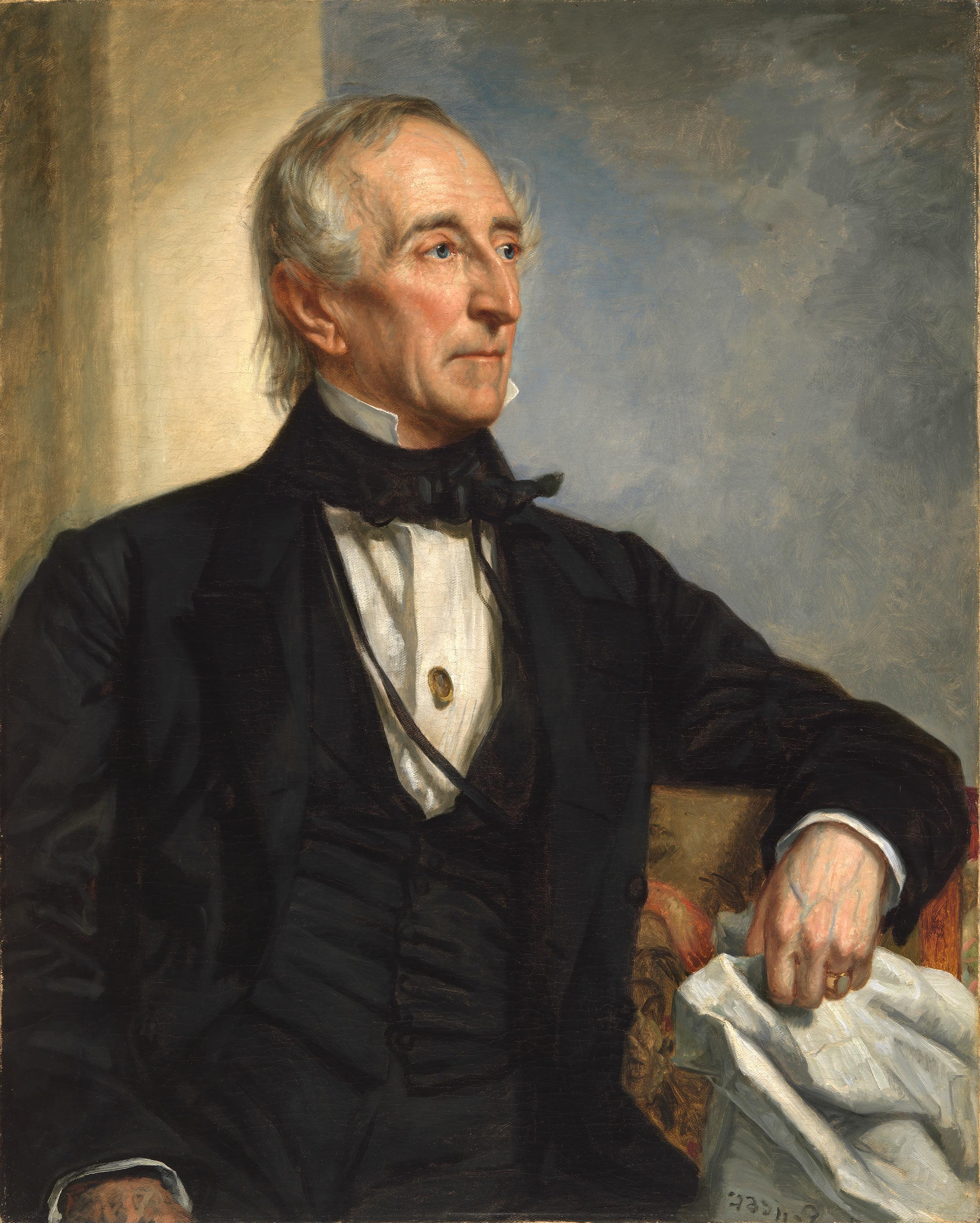 George Peter Alexander Healy (1813–1894),  Portrait of John Tyler , Oil on canvas, 1859