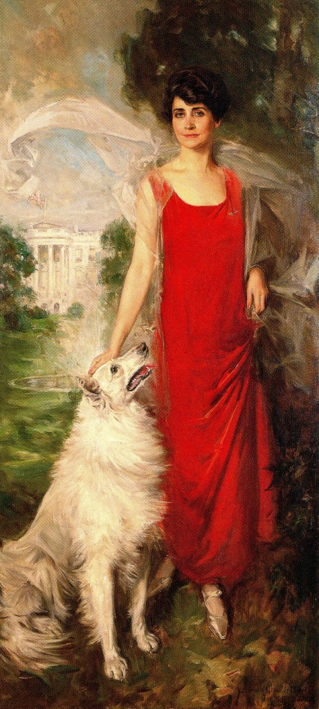 Portrait of Grace Coolidge