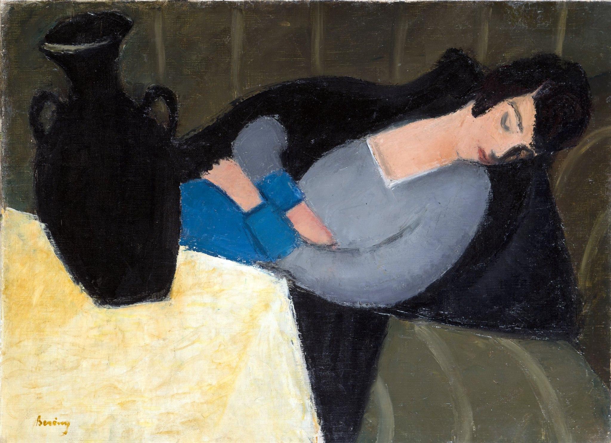 Sleeping-Lady-with-Black-Vase-by-Robert-Bereny-1920s.jpg