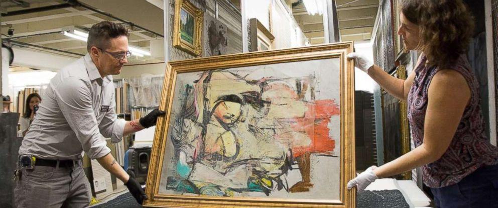 Willem de Kooning,  Woman-Ochre , 1955