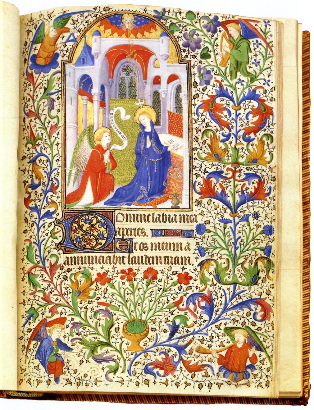 Illuminated manuscript from Europe