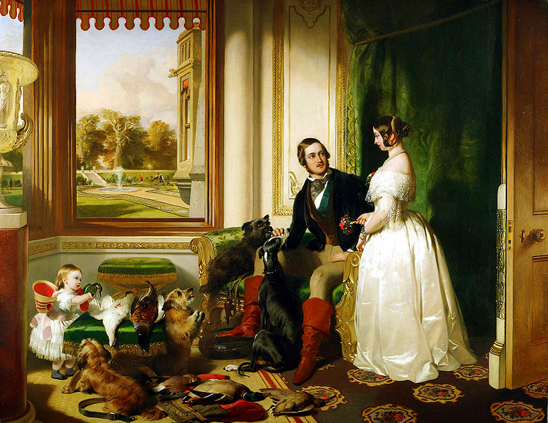 Edwin Henry Landseer,  Windsor Castle in Modern Times, 1840-43 , 1840-1843. Oil on canvas.