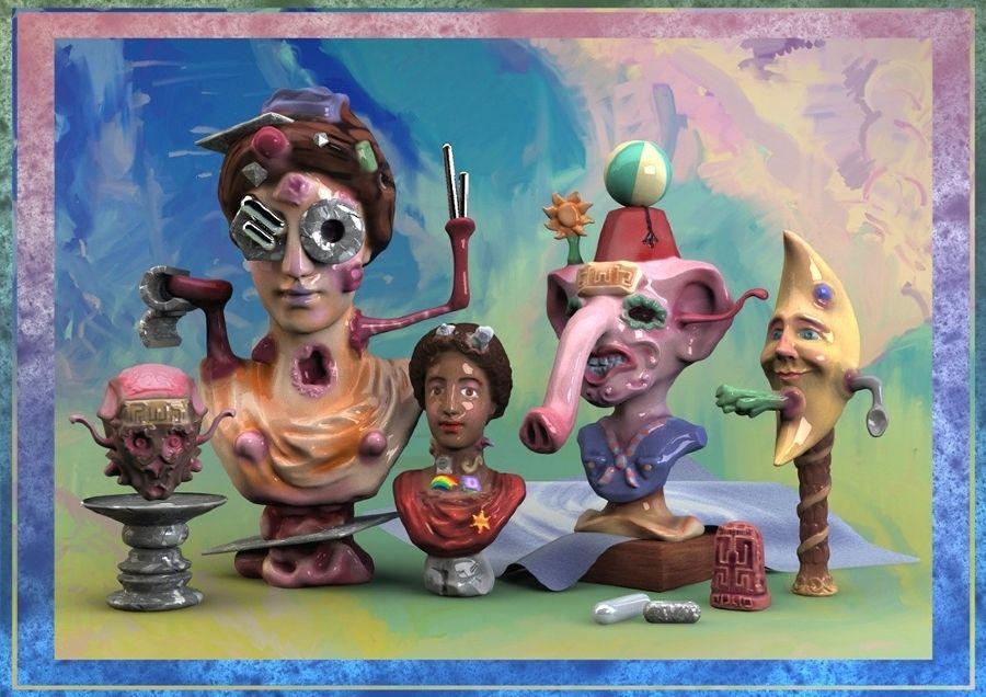 The Surrealism Crypt  - Ben Wheele