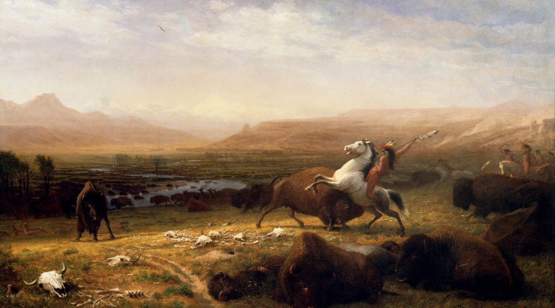 Albert Bierstadt,  Witness to a Changing West