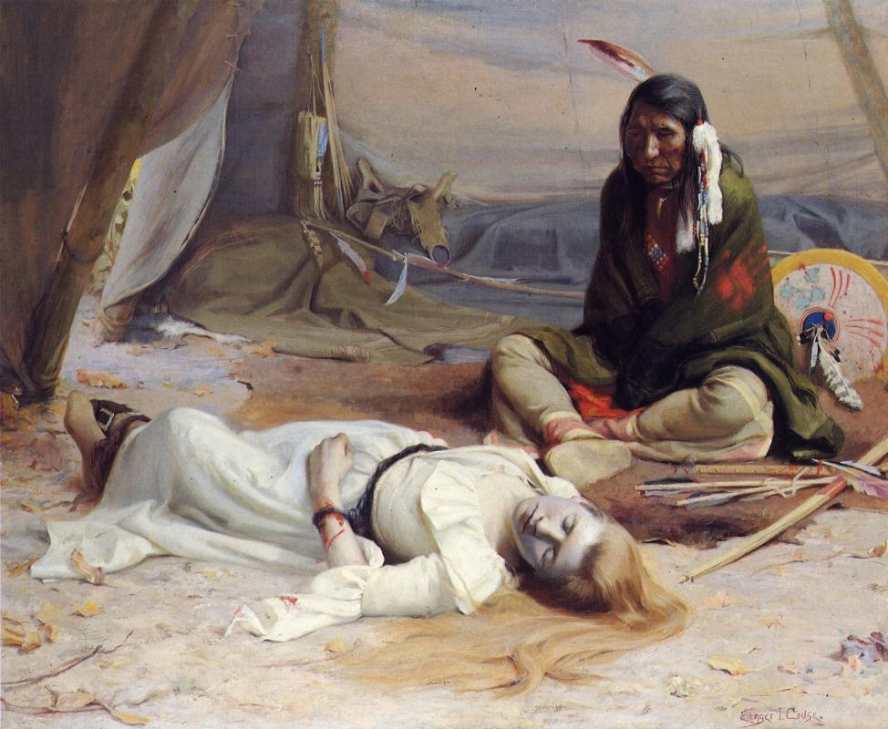 Irving Couse,   The Captive , 1892
