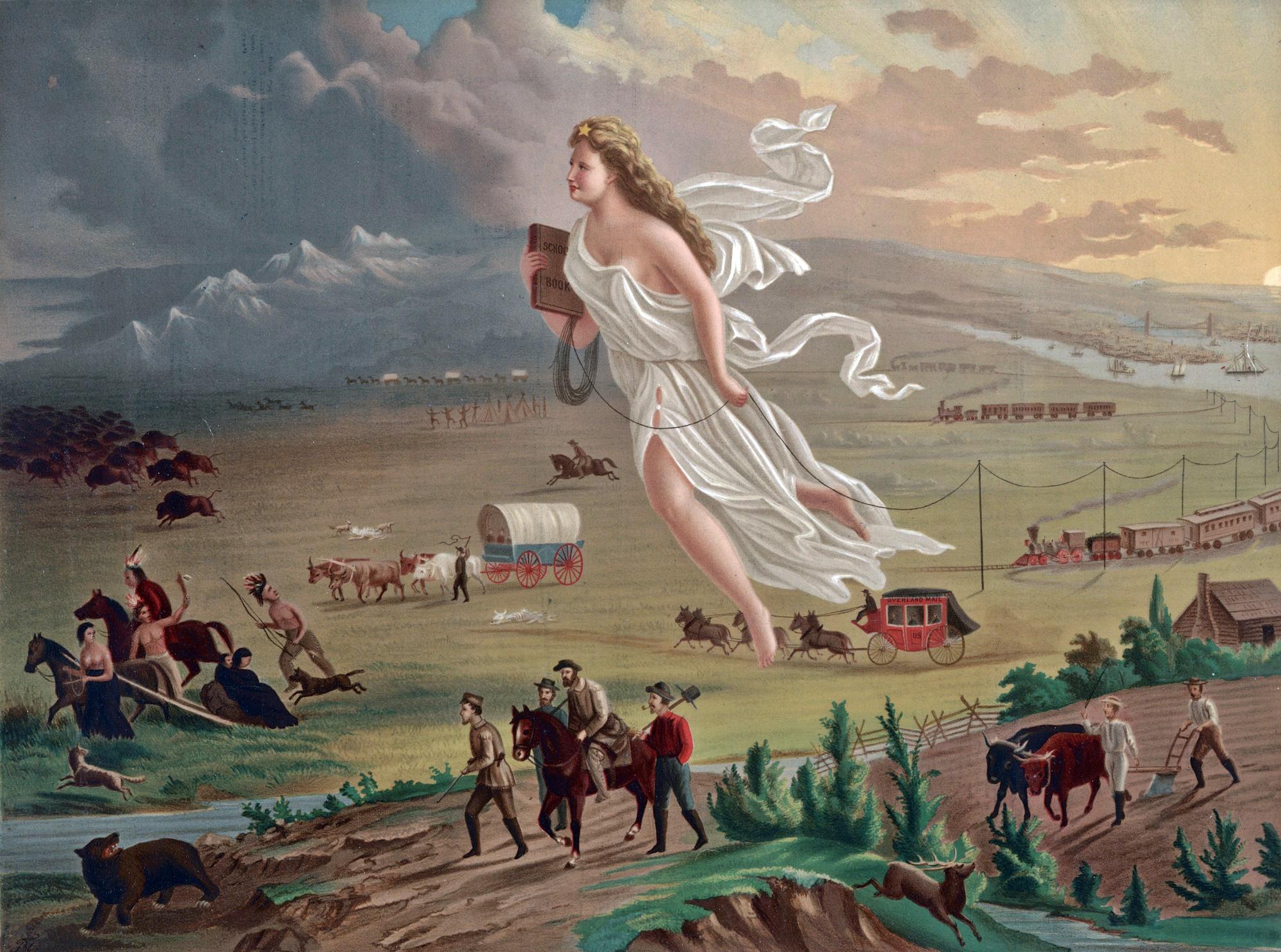 John Gast,  American Progress , 1872