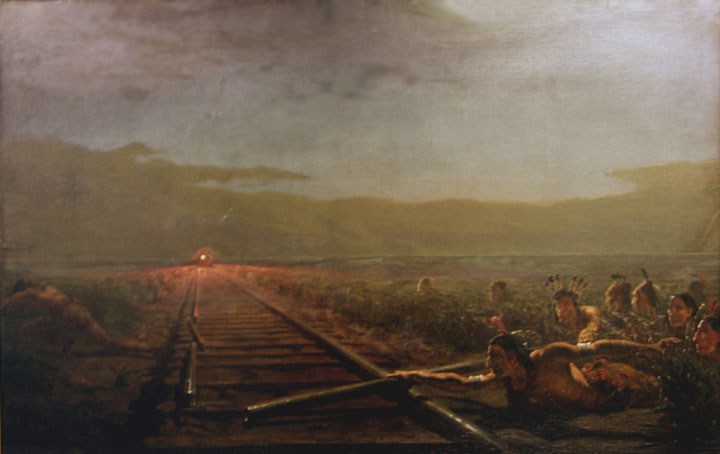 Theodore Kauffman (1814-1896)  Westward the Star of Empire , ca. 1880