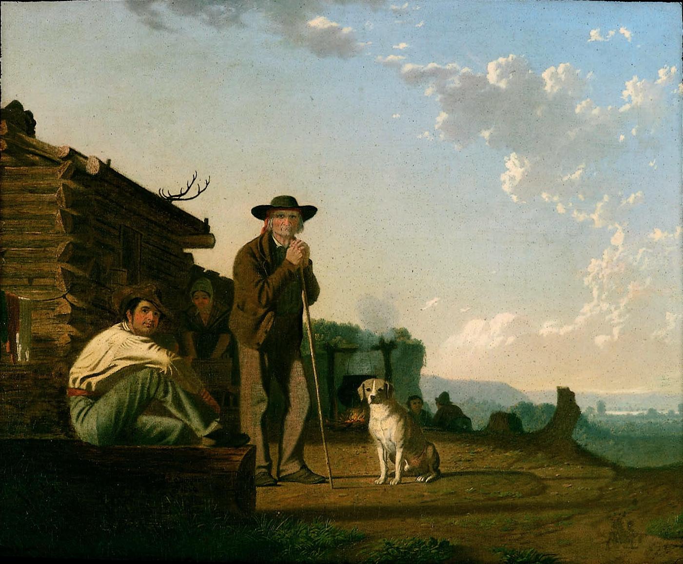 George Caleb Bingham,  The Squatters