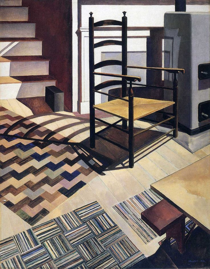 Charles Sheeler,  Home Sweet Home,  1931