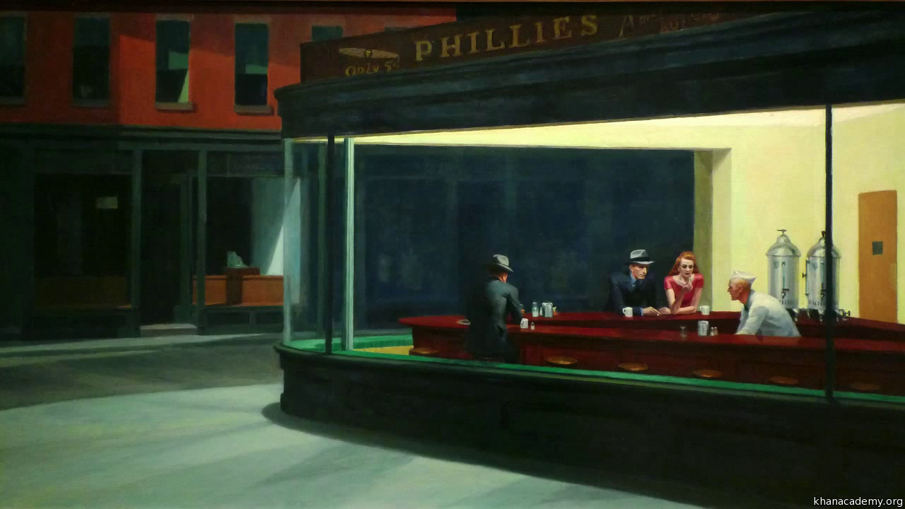 Edward Hopper,  Nighthawks , 1942