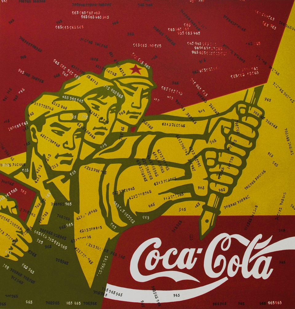 Wang Guangyi,  Great Criticism – Coca Cola , 1994