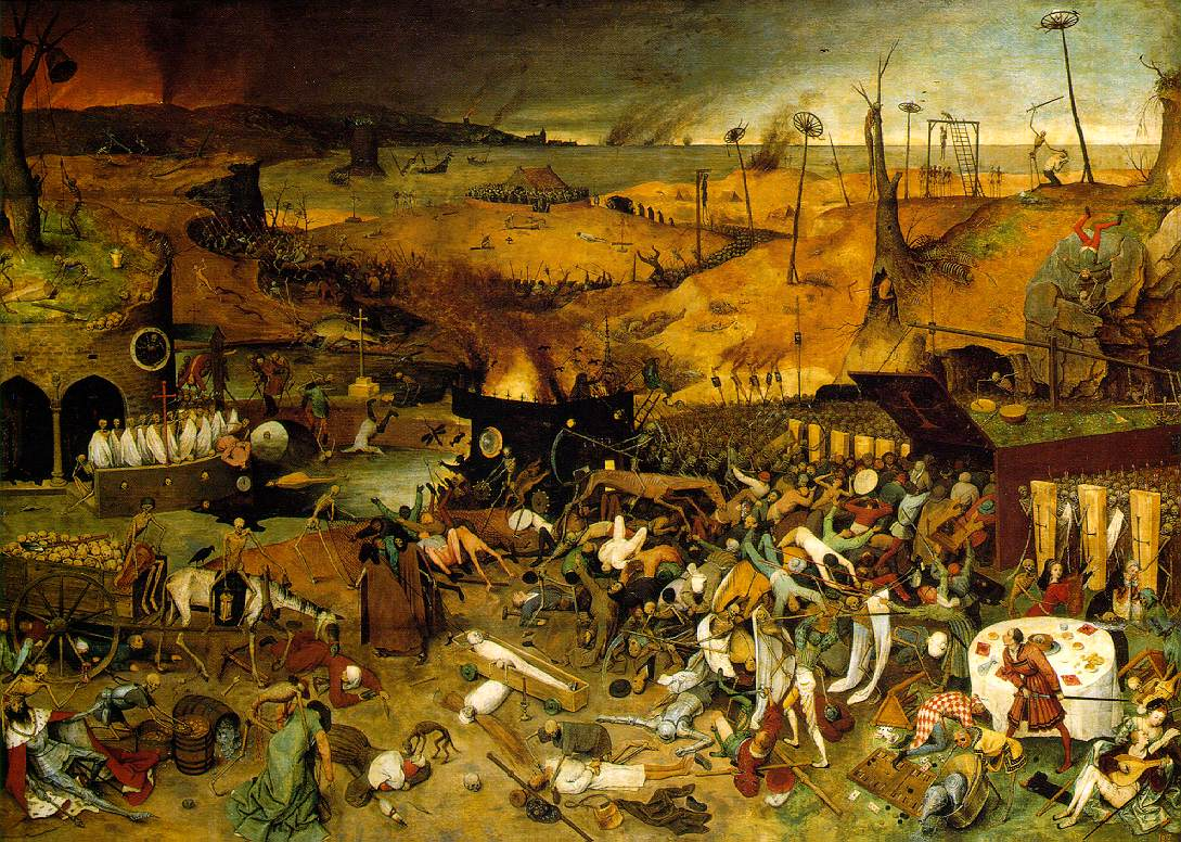 Pieter Bruegel the Elder,  The Triumph of Death , oil on panel, 1562