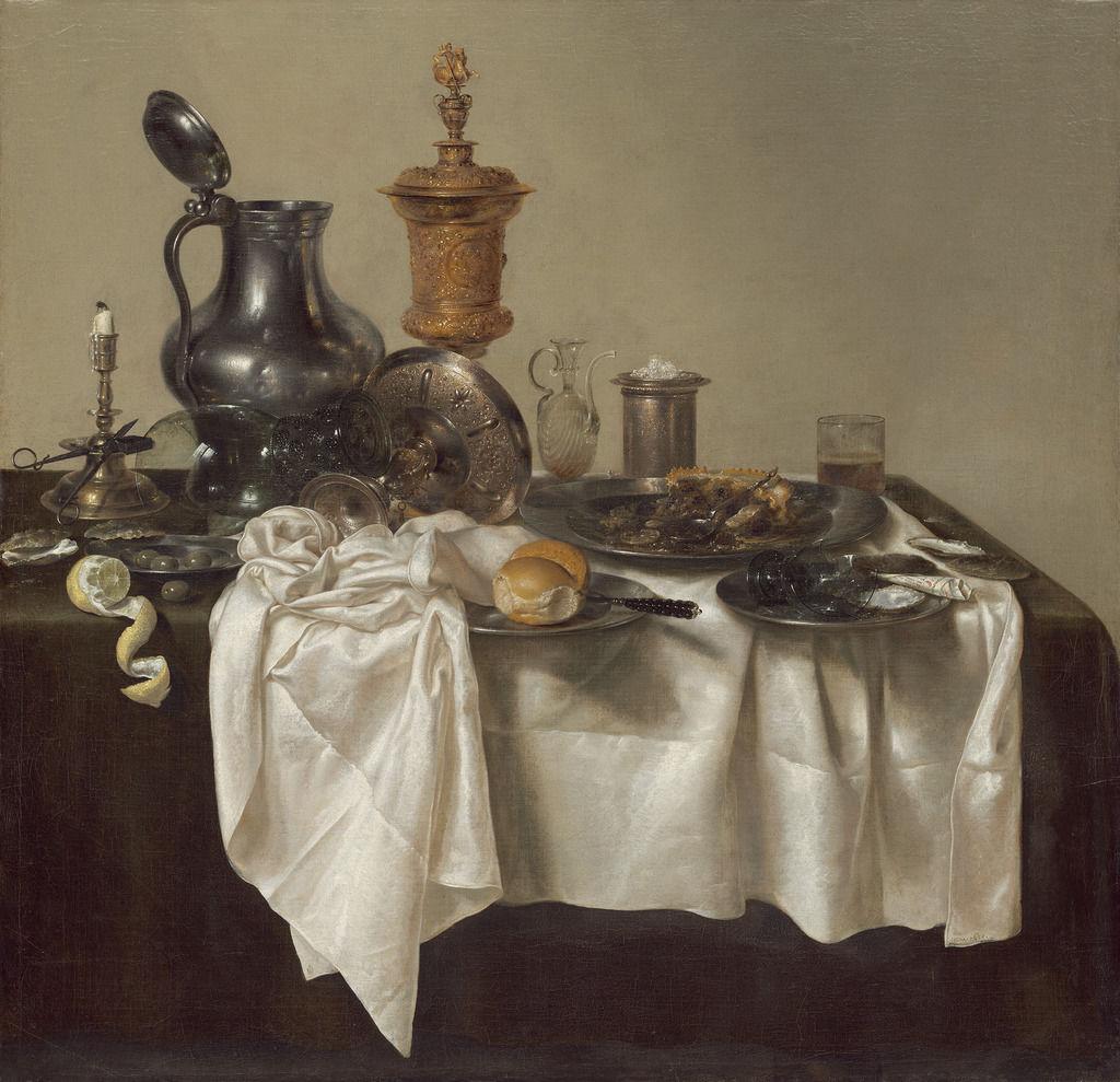 Willem Claesz Heda, Banquet Piece with Mince Pie, 1635, National Gallery of Art, Washington D.C.