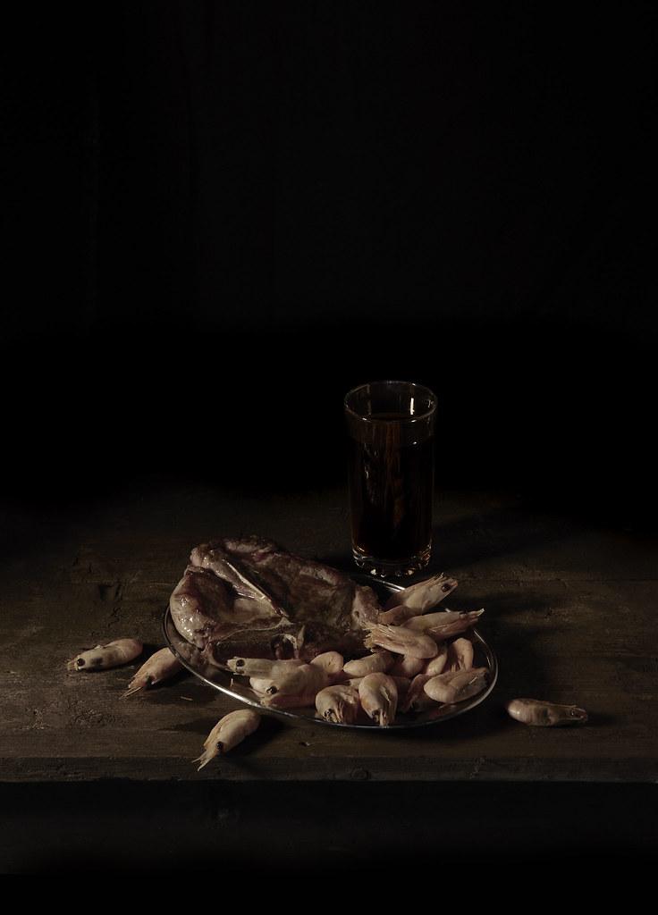 Mat Collishaw,  Last Meal on Death Row, Texas (Martin Vegas) , 2011, C-Print