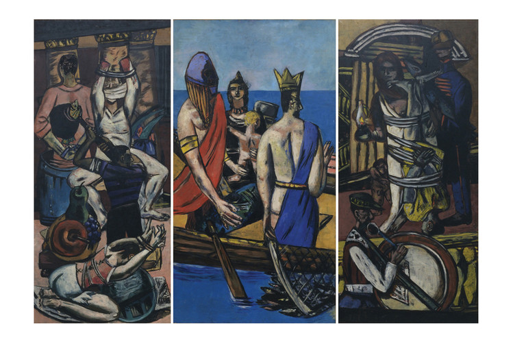 Departure  (1932–35) by Max Beckmann