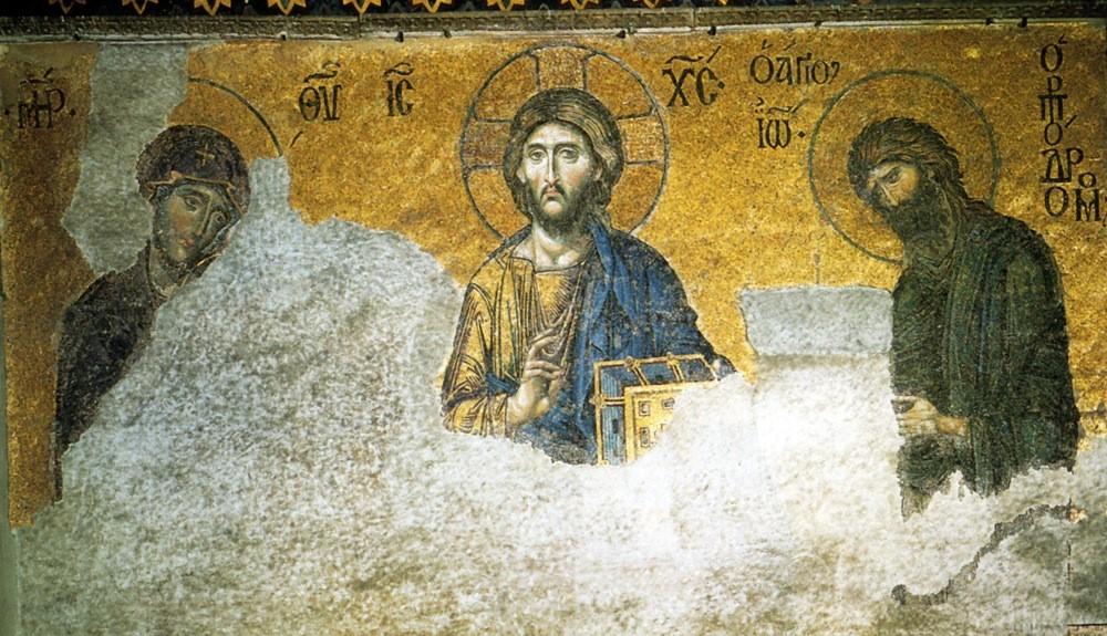 Hagia Sophia Intercessory Mosaic (c.1261 CE)