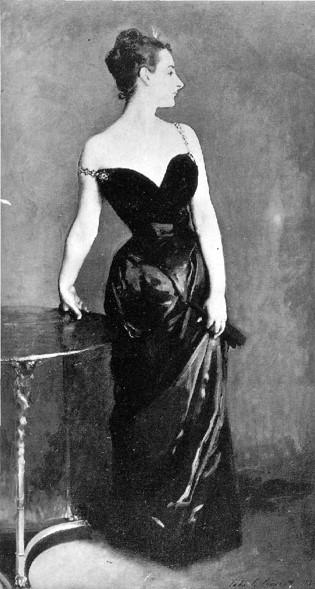Photograph of the original Madame X