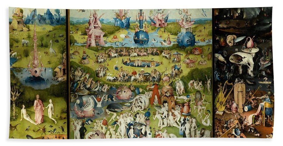 Hieronymus Bosch, Garden of Earthly Delights, 1503-1515
