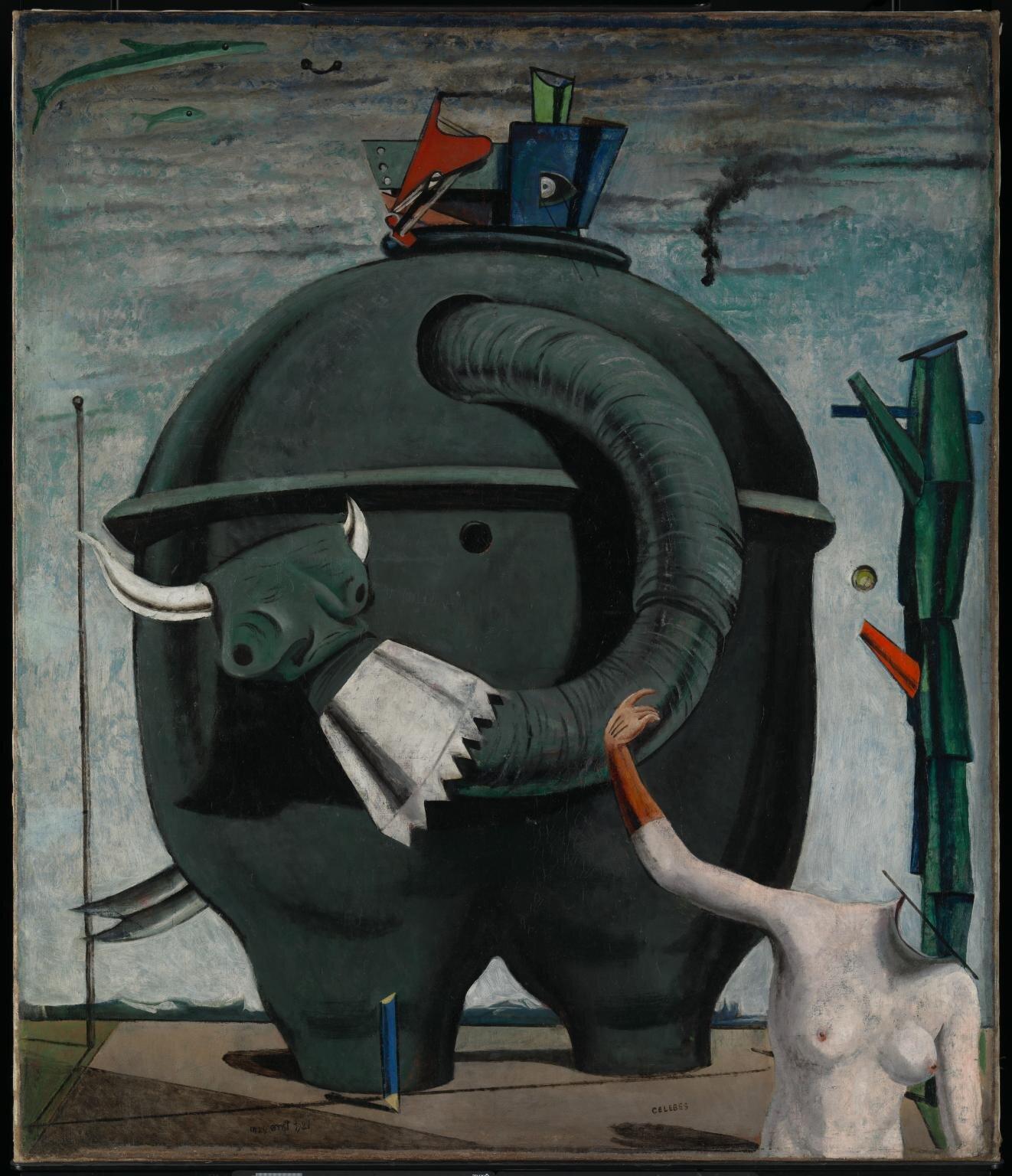 Max Ernst, Celebes, 1921