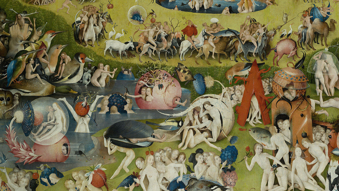 Hieronymus Bosch,  Garden of Earthly Delights  (detail), 1503-1515