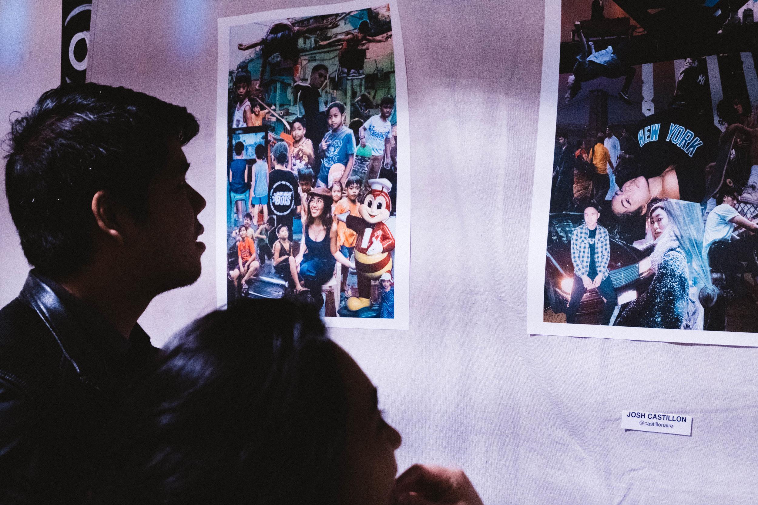 Displayed work by Barangay Bois' Josh Castillon (@castillonaire)