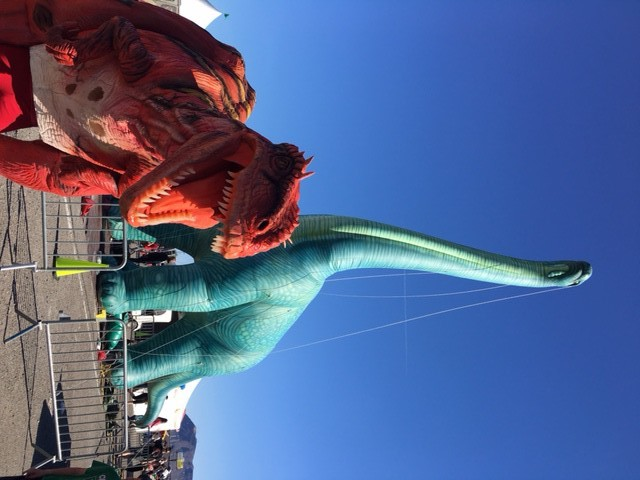 Dinosaur Performer Las Vegas
