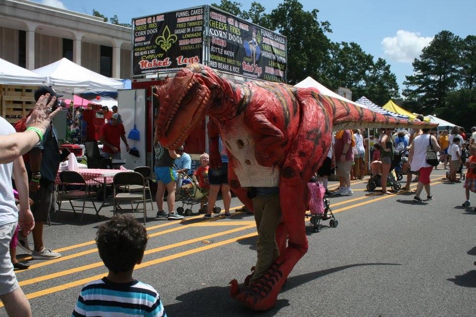 Peach Festival Dinosaur