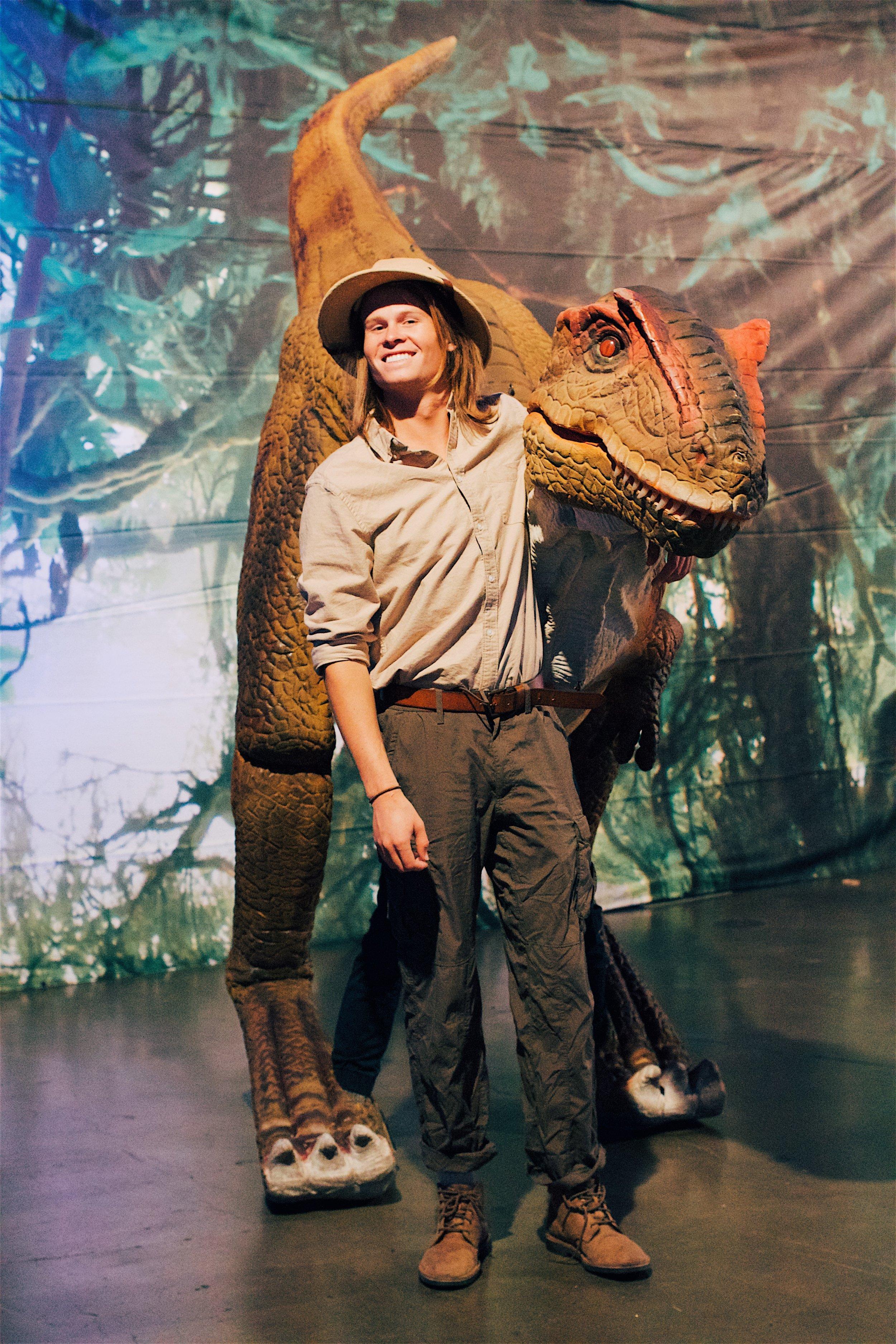 Jurassic World theme corporate event.JPG