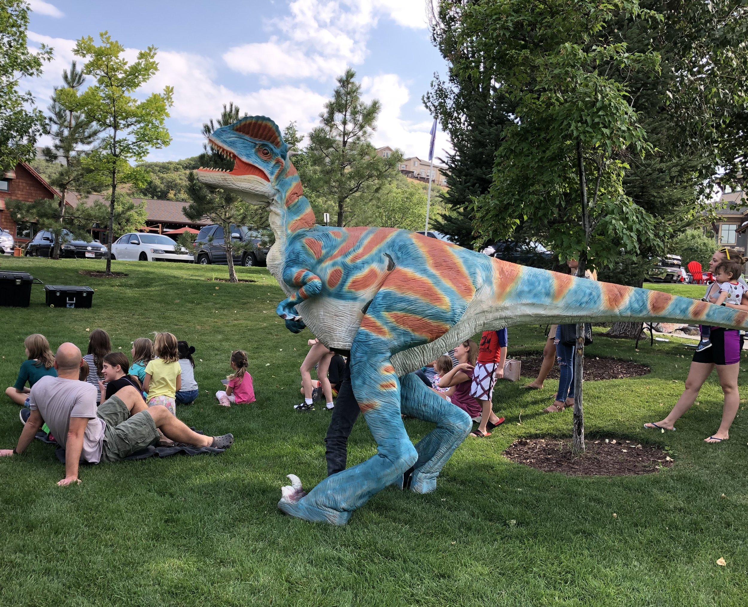 Hire a dinosaur Utah.JPG