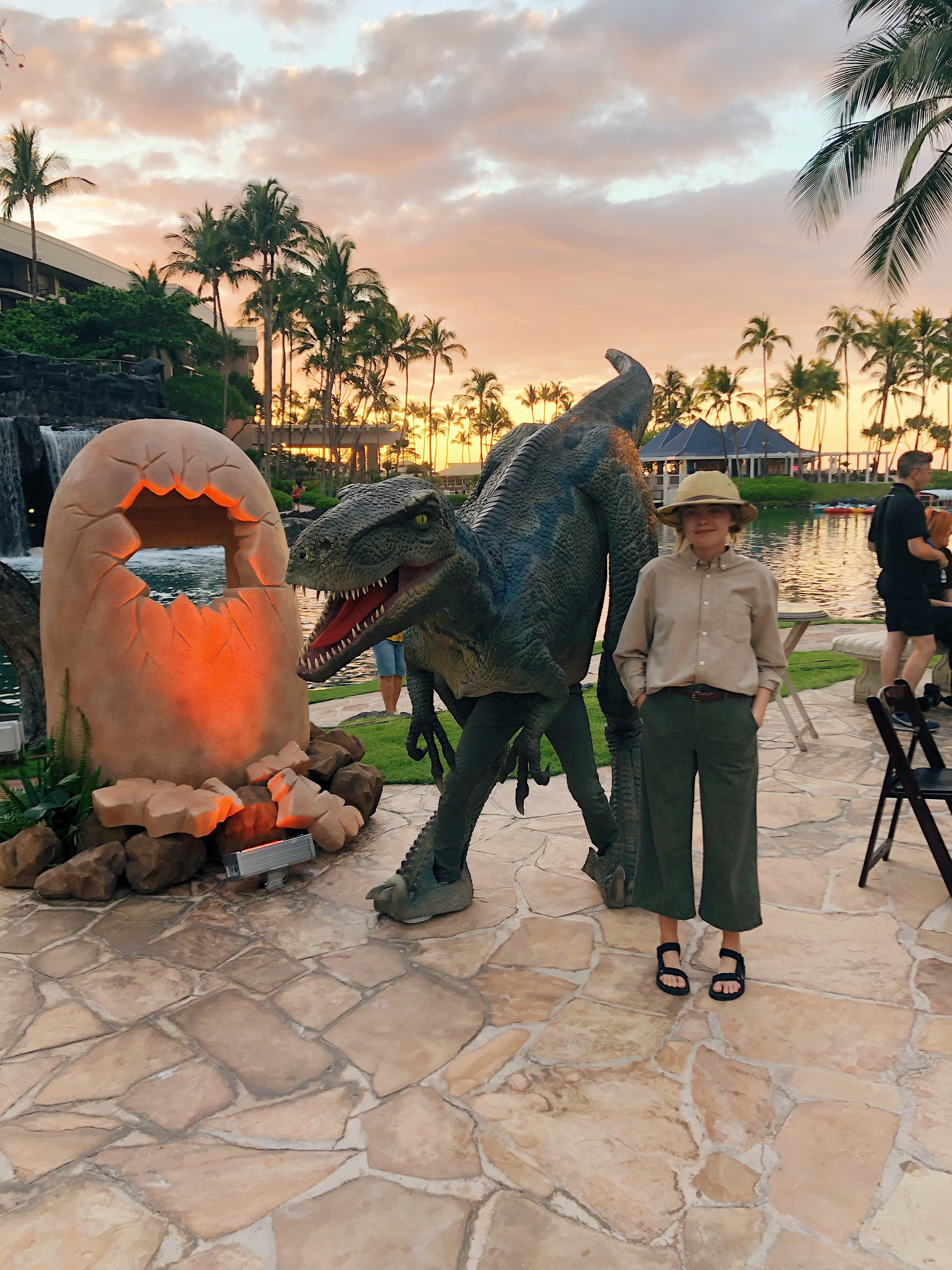 Hire a dinosaur Hawaii