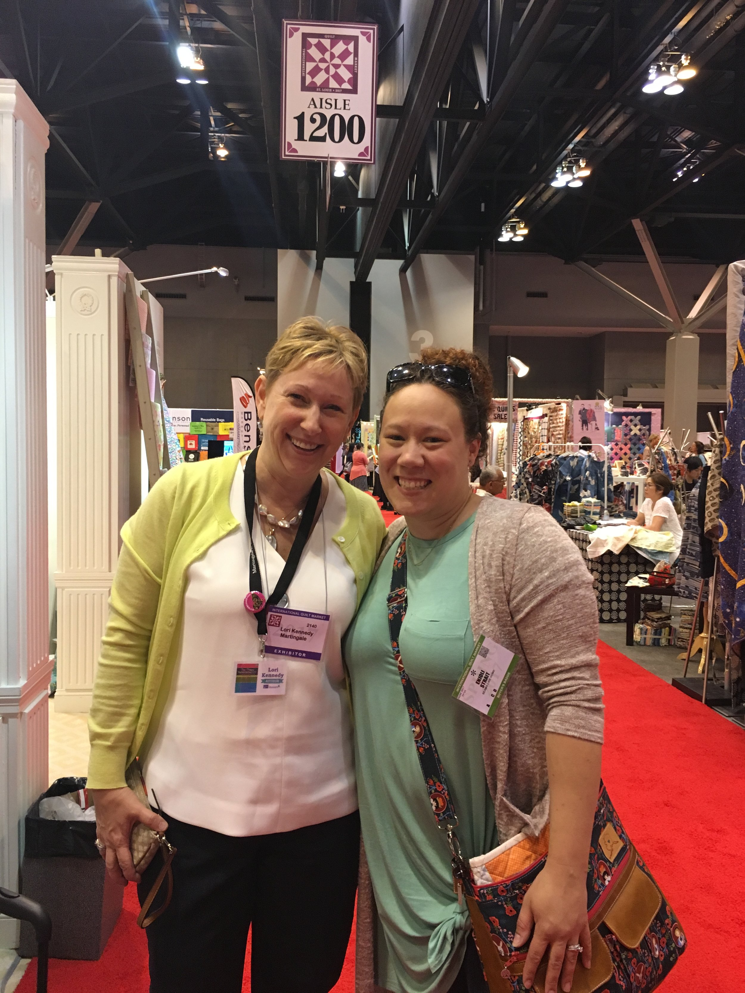 Lori Kennedy is so nice! And she told me she loved my business name!