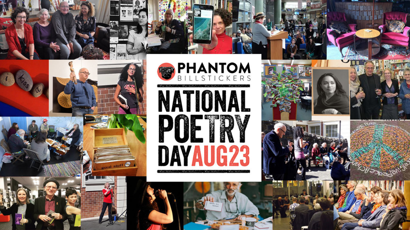 Image courtesy of  NZ Book Awards: National Poetry Day 2019 .