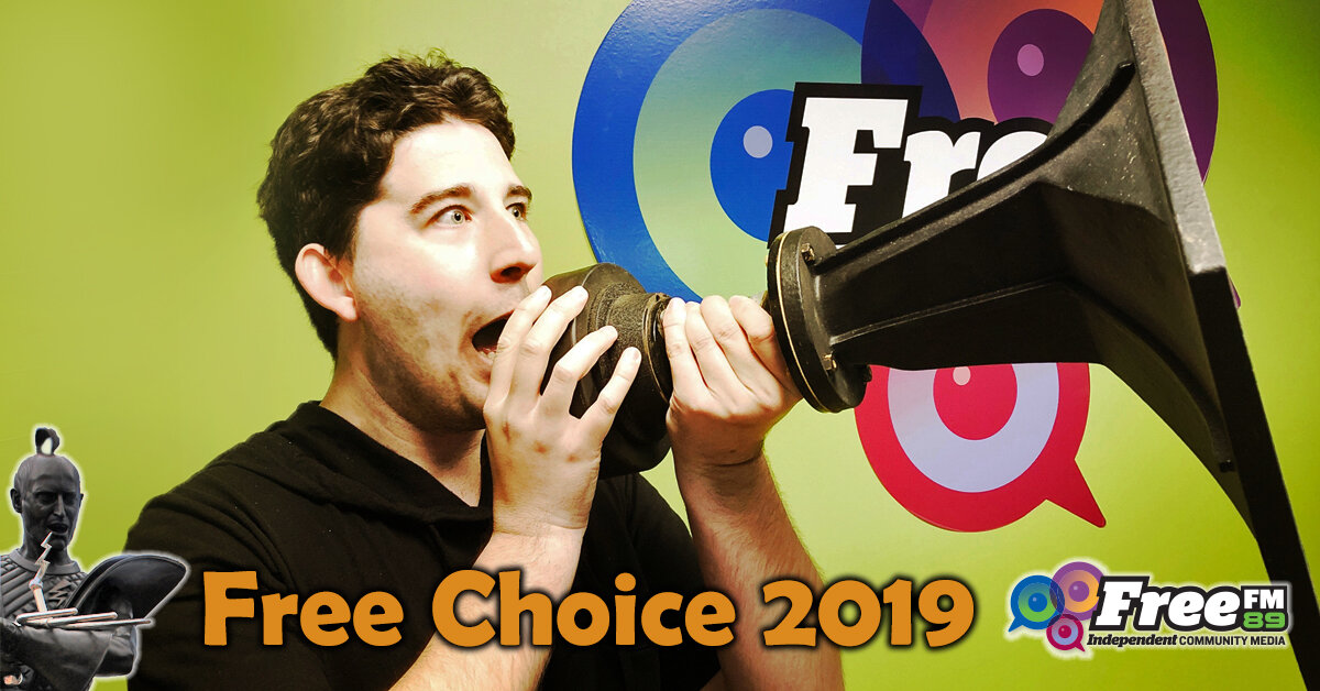 Click the image to listen to Matt's 15-minute radio interview on Free FM's Free Choice show.