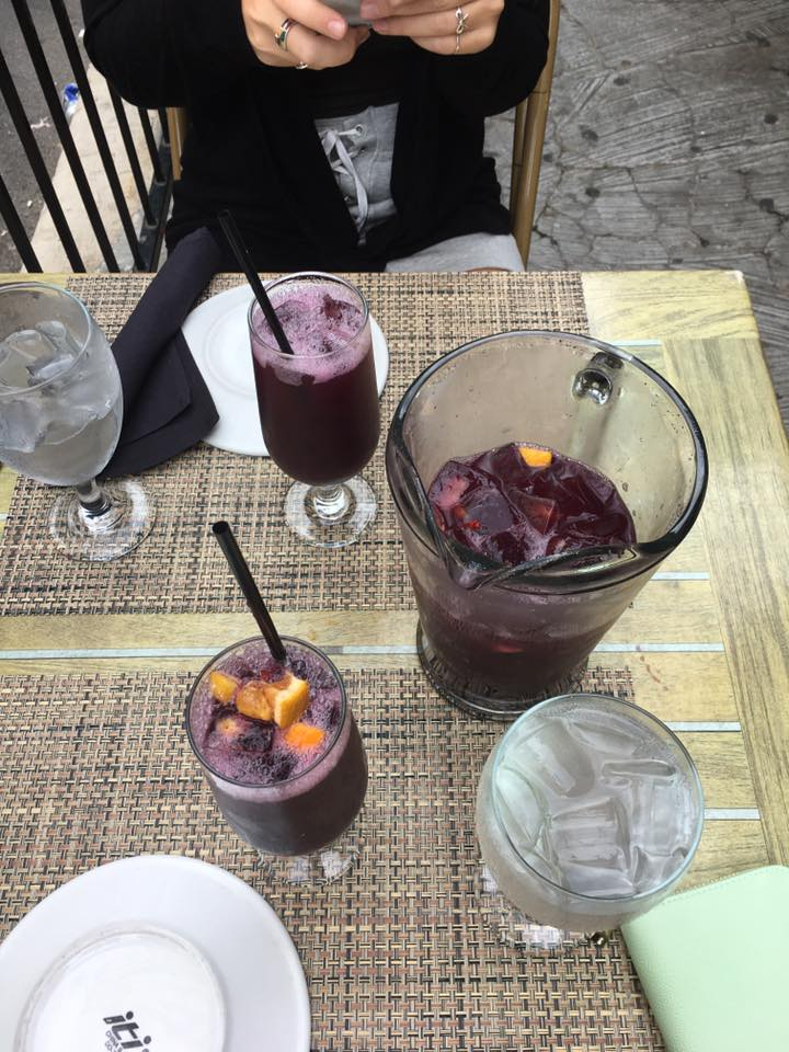 Havana in River North has the best sangria! $32 for a pitcher, and the pitcher gives 3 glasses per person for 2 people! Highly recommend for happy hour. I didn't try any of the food but it all looked incredible!