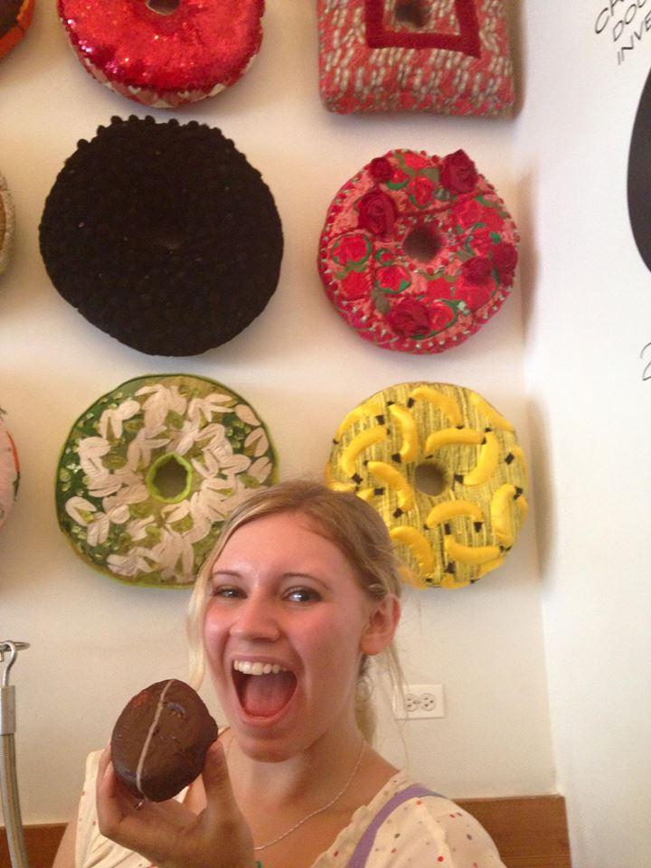 Low quality pic, high quality doughnut