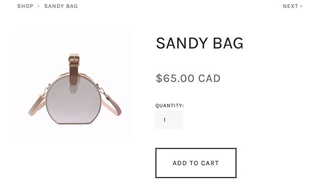 Our site is now LIVE. Shop our latest collection 'SANDY' BAG. (Link in bio directly to our website)