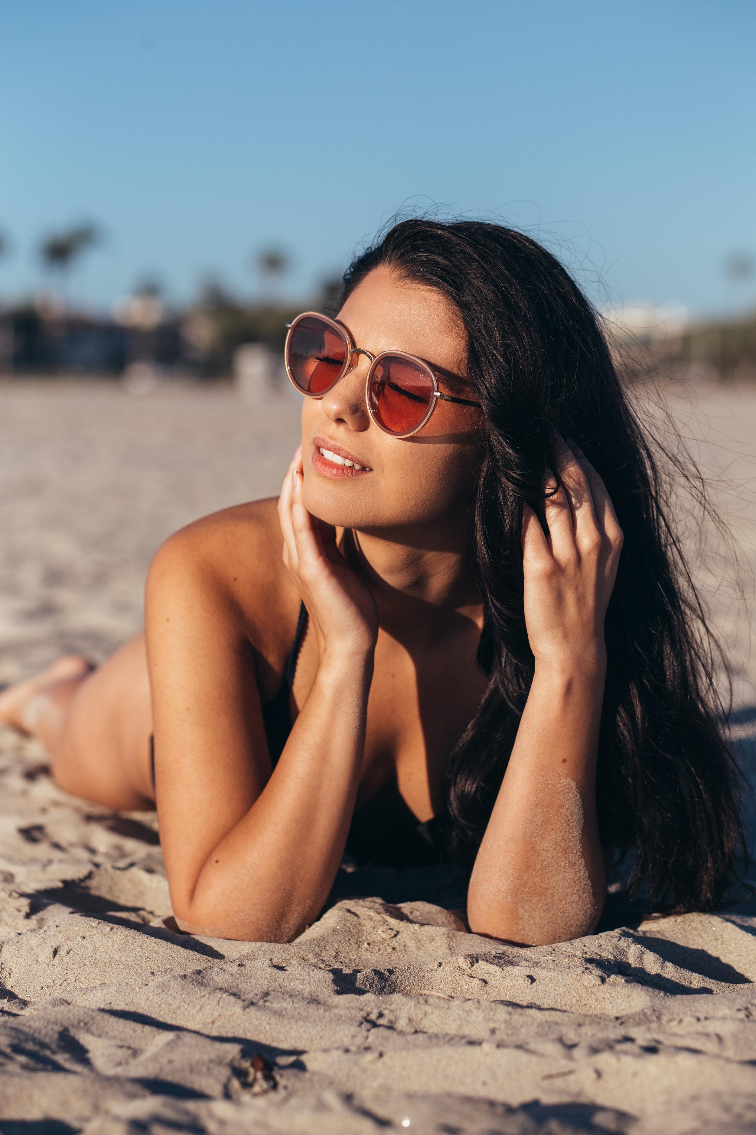 @dianalexandru is wearing Prestige in desert blush. Photo by @nicovilln