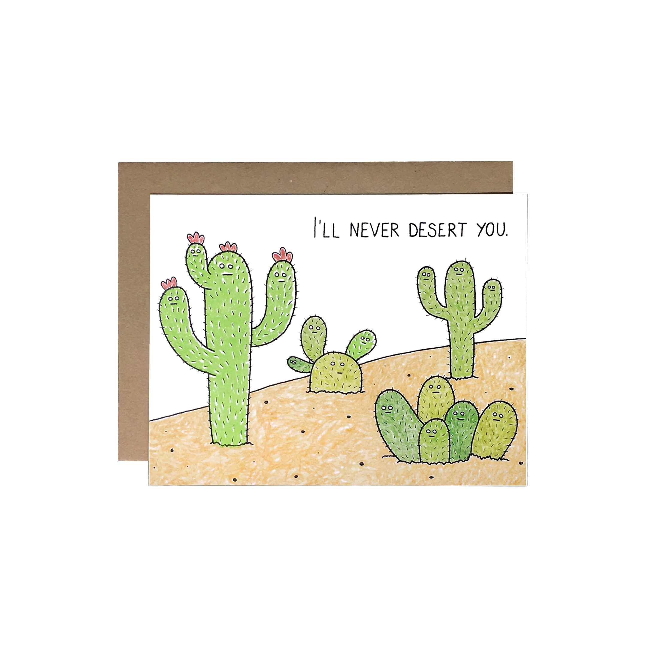 never desert you CARD