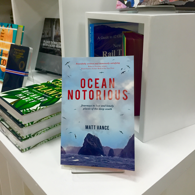 Ocean Notorious - Book cover