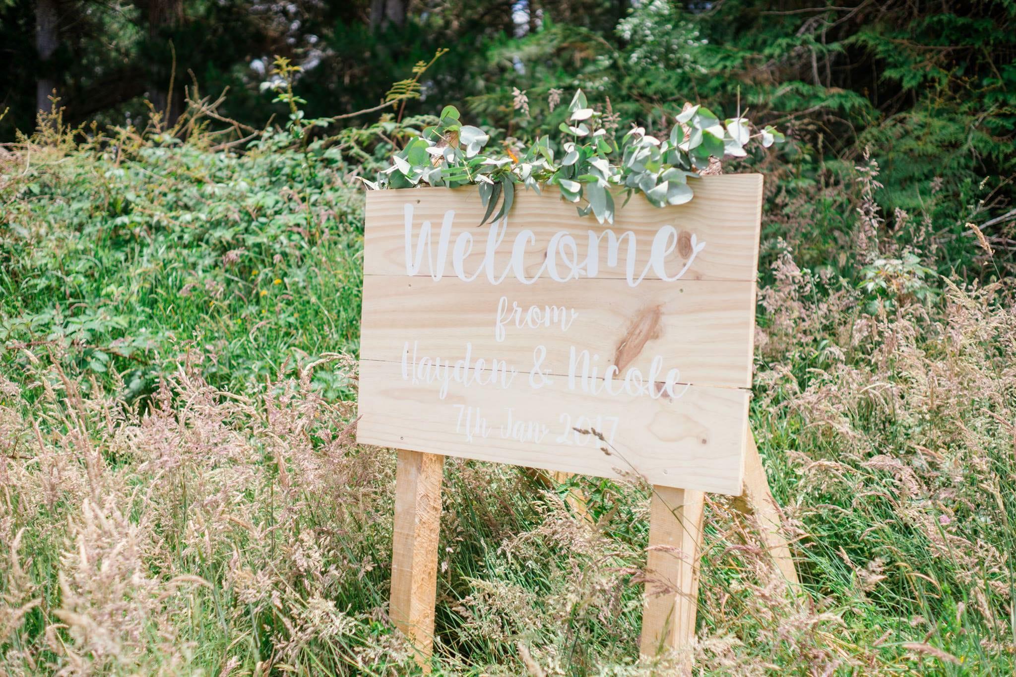 Wedding botanical stationary