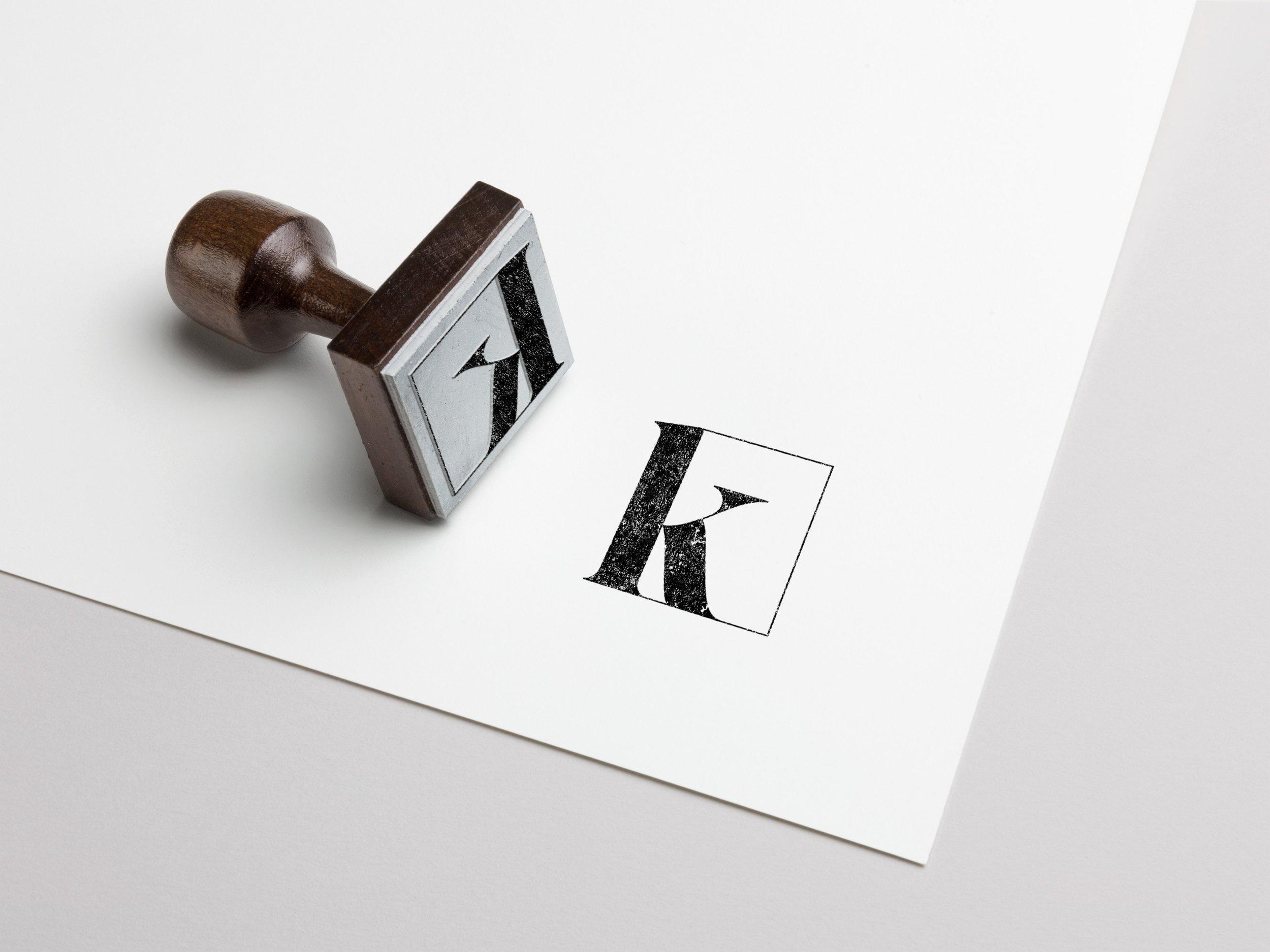 Kater Wedding logo design